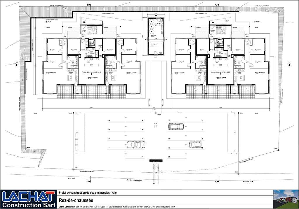 Plans et suivi de chantier for Plan de construction